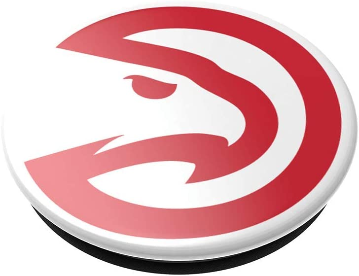 Atlanta Hawks NBA PopSockets PopGrip with Swappable Top for Phones /& Tablets