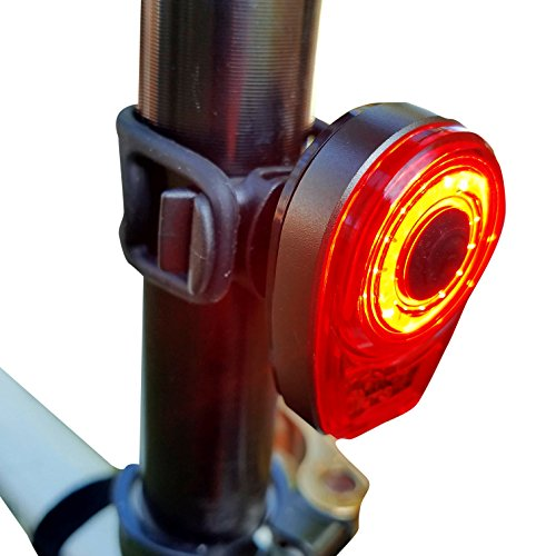 (Bright Eyes Taillight - USB Rechargeable with Extreme Bright COB Technology - 6 Modes (3 Brightness Levels) - No Tools - Install On Bicycle, Helmet, or Clip on Clothing for)