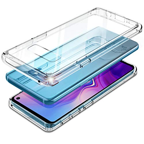 Samsung Galaxy S10E Lite Case Clear 9H Tempered...