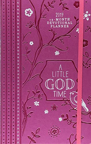 A Little God Time 2019 Planner: 12-month Devotional Planner by Broadstreet Pub Group LLC