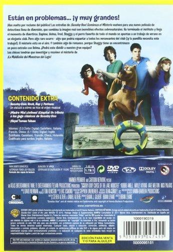 ¡Scooby Doo! Y La Maldición Del Monstruo Del Lago (Import Movie) (European Format - Zone 2) (2011) Nick Pal