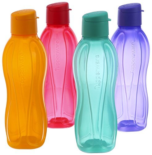 tupperware-eco-sports-water-bottle-flip-top-1-ltr-4pcs