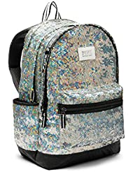 Victorias Secret PINK Campus Backpack sequined Iridescent Sequins