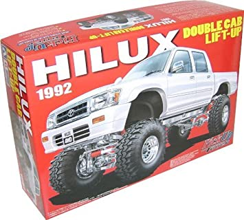 Hilux pick up double cab lift up 94 model car 1/24 the and sedans ...