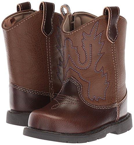 Pictures of Baby Deer Baby 006911R Western Boot Brown Brown 3 Medium US Toddler 4