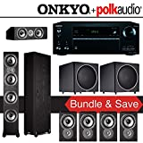 Polk Audio TSi 500 7.2-Ch Home Theater System with Onkyo TX-NR656 7.2-Ch Network AV Receiver