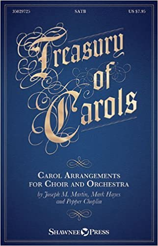 Book Treasury of Carols: Carol Arrangements for Choir and Orchestra by Mark Hayes (2014-06-01)