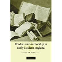 Readers and Authorship in Early Modern England