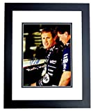 Signed Rusty Wallace Photo - Racing 8x10 inch BLACK CUSTOM FRAME Guaranteed to pass or JSA - PSA/DNA Certified