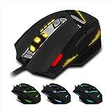 Mouse ,ZYooh 7 Key USB Wired Optical 1600DPI LED