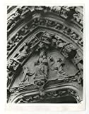 Quimper French Cathedral - Vintage 7x9 Publication Photograph - France