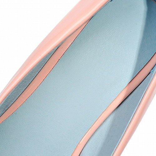 Scarpe e MissSaSa Tacco Donna Rosa Alto Elegante Casual col PSp6wSq