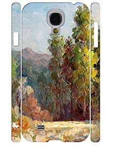 Simple Custom Pure Oil Painting Theme Hard Plastic Samsung Galaxy S4 I9500 Cover Case Kimberly Kurzendoerfer