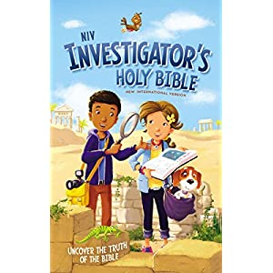 NIV Investigator's Holy Bible, Hardcover: Uncover the Truth of the Bible