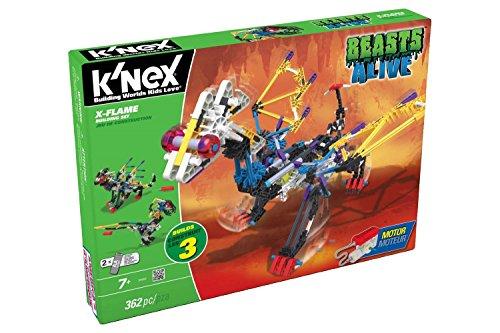K'NEX Beasts Alive - X-Flame Building Set ()