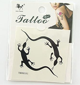 Amazon.com: Gecko juego Gecko tatuaje pegatinas tatuajes ...