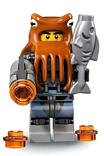 LEGO Ninjago Movie Minifigures Series 71019 - Shark Army Octopus