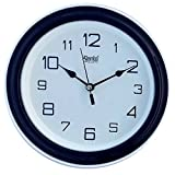 Ajanta Plastic Wall Clock (Blue)