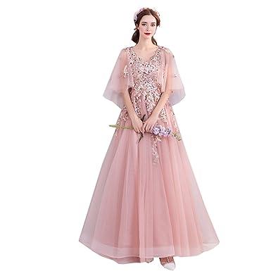 d4b490d34ac66 カラードレス二次会ドレス 謝恩会ドレス 誕生日 演出服 ウェディングドレス ふわふわドレス ドレス