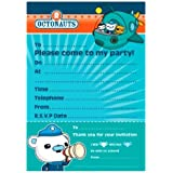 Amscan International Octonauts Invites&envelope (Pack fof 20)