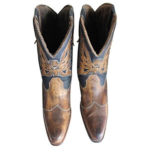 Leather Boots by EU only 33 Farrel 44 Customized Model Python 11sunshop Lon in and qX6XTw5