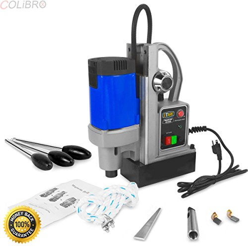 COLIBROX--1600w Magnetic Drill Press multi functional table machine core and twist bit. magnetic drill press for sale. hougen mag drill bits. steelmax mag drill.low profile mag drill. heavy duty (Magnetic Core Drill)