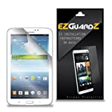 1-Pack EZGuardZ© Screen Protectors (Ultra CLEAR) For Samsung GALAXY TAB 3 7.0""