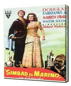 Poster - Sinbad the Sailor_04 - Pintura en lienzo