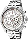 Breitling Men's Breitling For Bentley Automatic/Mechanical Chrono Silver Storm Dial Stainless Steel