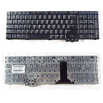 Nuevo teclado para ordenador portátil para HP Compaq 8710 8710p 8710 W nx9420 NX9440 NW9440 Series US Layout Black Color: Amazon.es: Informática