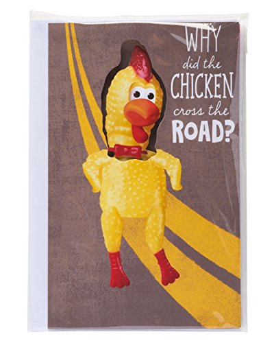 American Greetings Funny Dancing Chicken Birthday Card 645416391894