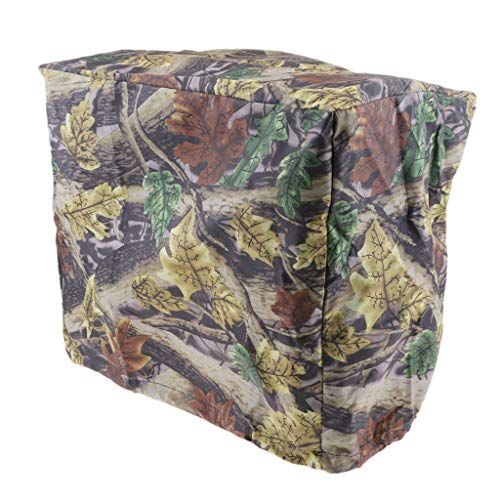 B Blesiya Maple Leaf Camouflage Universal 2-225 HP Outboard Boat Motor Engine Cover - for 30-90 HP Engines