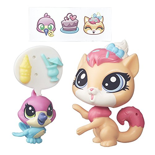 Littlest Pet Shop Pet Pawsabilities Sugar Sprinkles and Hummy Jewelfeather - Littlest Pet Shop Sheets