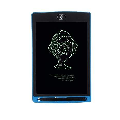 tianranrt Portable 8.5 pulgadas Mini LCD escritura – Pizarra Dibujo umge schrieben – Fregadero para niños, Azul