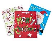 American Greetings Fun Holiday Medium Gift Bag Bundle, 3 Count