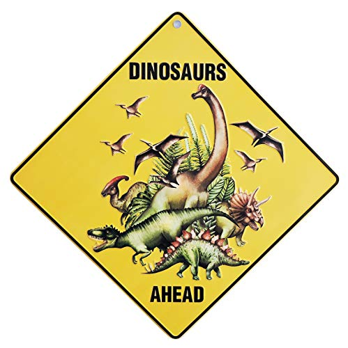 Mr&Mrs TINY Dinosaur Room Decor & Wall Decoration. Great Gifts for Boys & -