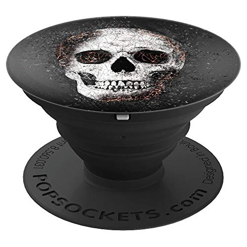 Cupcake Sprinkles Designs - Exploding Skull - PopSockets Grip and Stand for Phones and Tablets ()