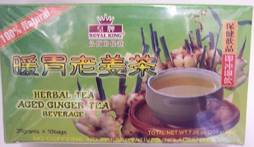 Herbal Tea Instant Aged Ginger Tea 20gx10bags