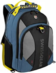 SwissGear Pulsar Backpack With 16 Padded Laptop Pocket (Dark Blue/Chart)