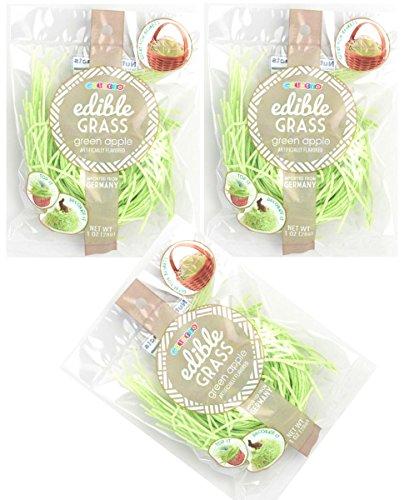 Edible Easter Grass Green Apple Flavor (3 -