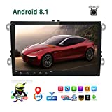 Car Stereo Double Din Android 8.1 Car Radio for VW Passat Golf Jetta