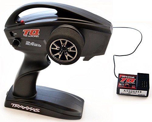 Traxxas 1/10 Slash Raptor TQ 2-Ch RADIO & RECEIVER 2.4GHz Transmitter 6516/6519 by Traxxas (Traxxas 4 Channel Transmitter)