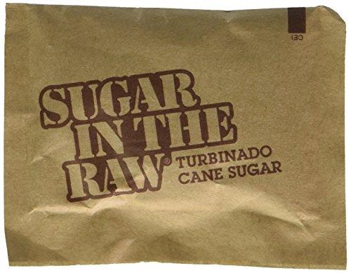 Sugar in the Raw / Raw Sugar Natural Cane Turbinado from Hawaii / Box of 250 packets