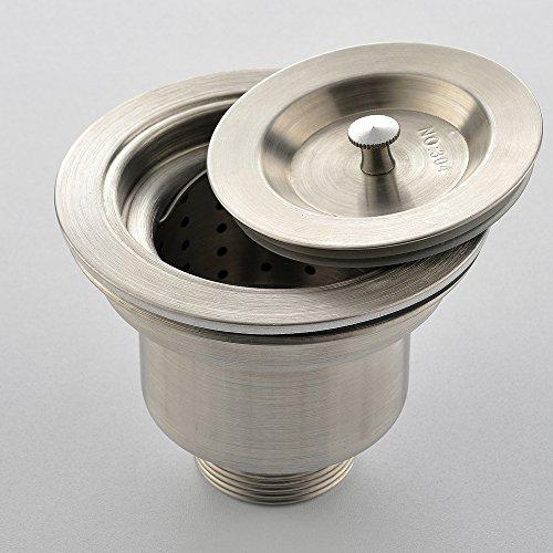 VAPSINT 3-1/2-Inch Stainless Steel Kitchen Sink Strainer ,Drain ...