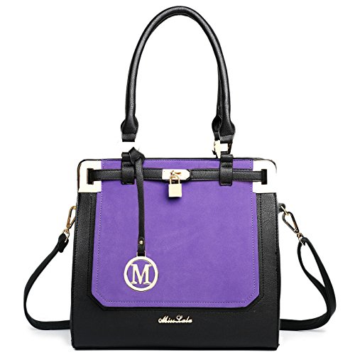 Miss Lulu - Bolsa Mujer Multicolor - morado