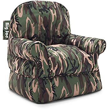 Amazon Com Big Joe Milano Bean Bag Chair Woodland Camo
