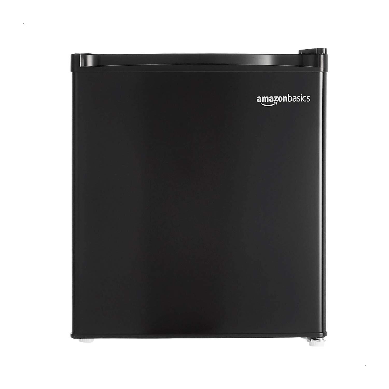 AmazonBasics 43L Mini Refrigerator - Black