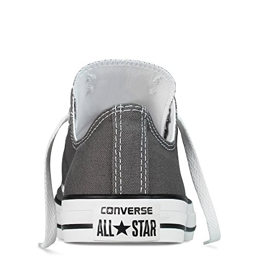 Converse Unisex Chuck Taylor All Star Low Top Charcoal Sneakers - 5.5 B(M) US Women / 3.5 D(M) US Men 1BfeMF