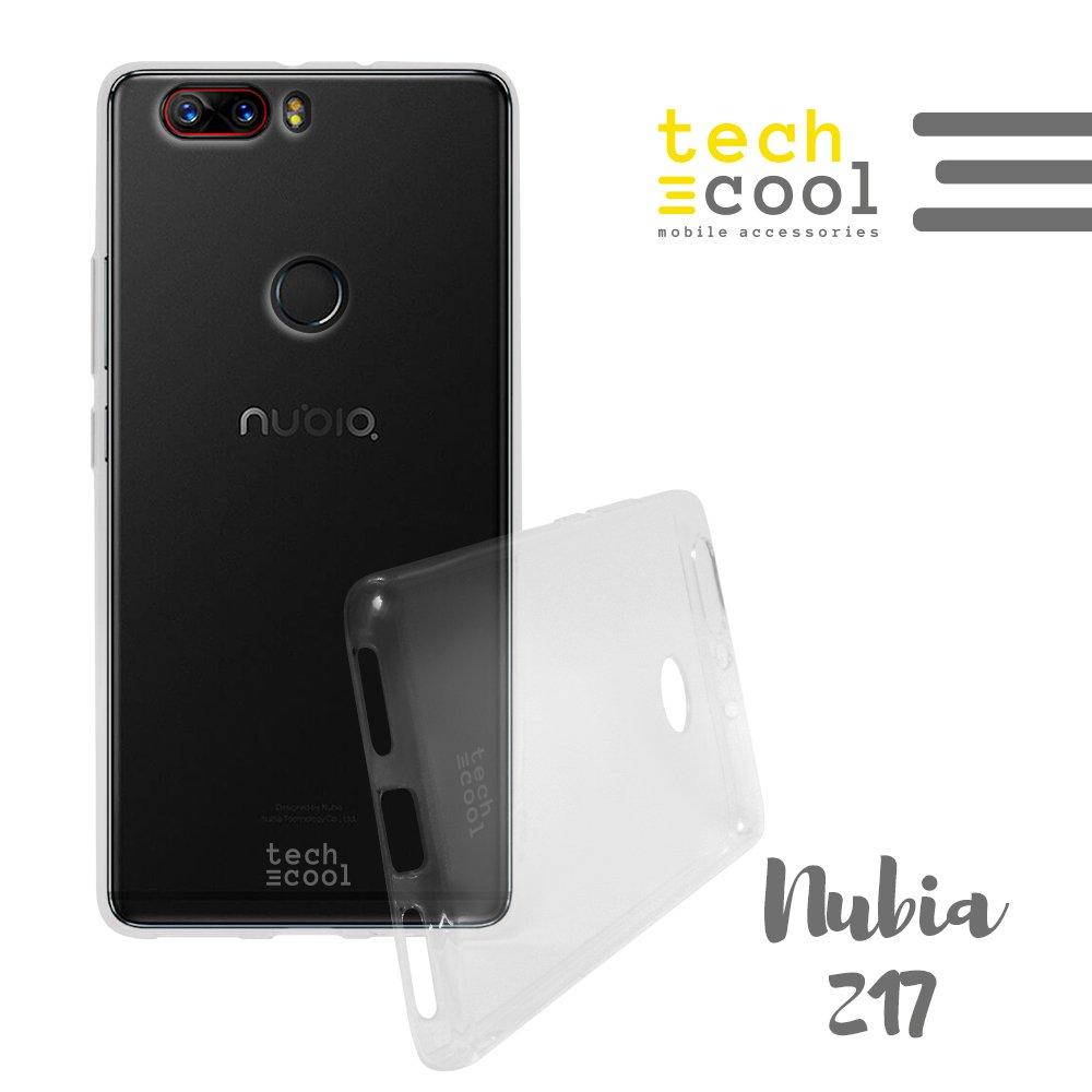 TechCool® Funda Silicona para Nubia Z17 [Gel Silicona ...
