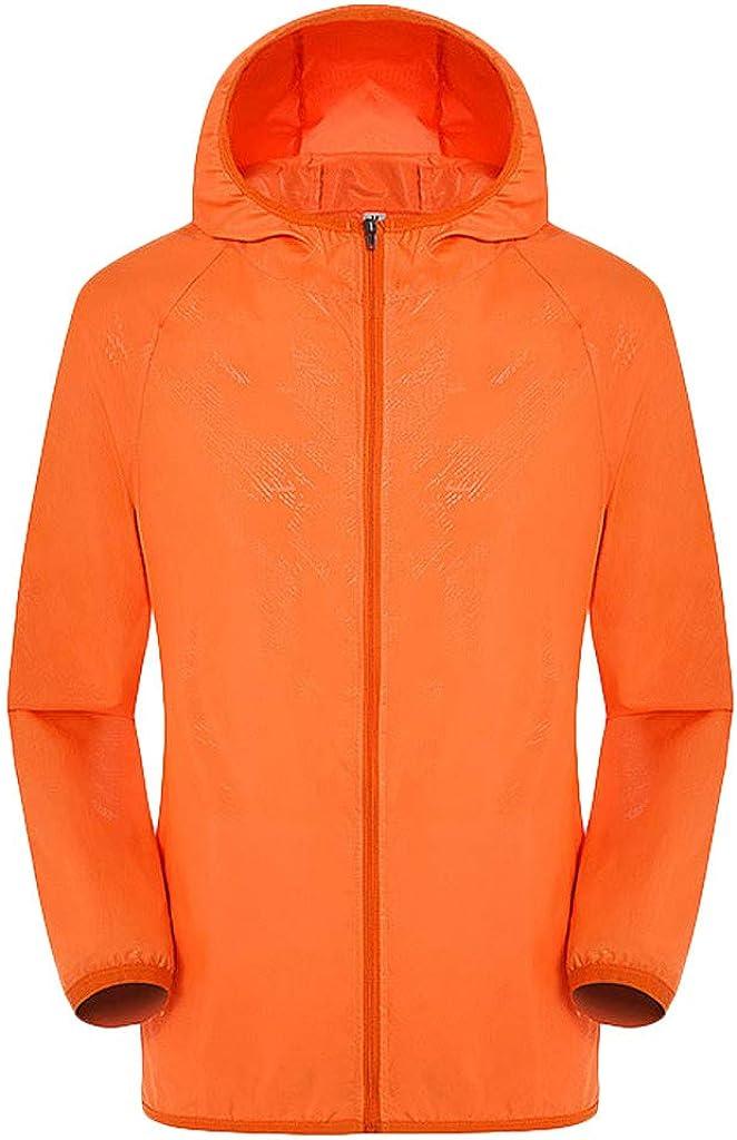 TIANRUN Men Women Casual Jackets Windproof Ultra-Light Rainproof Windbreaker Top